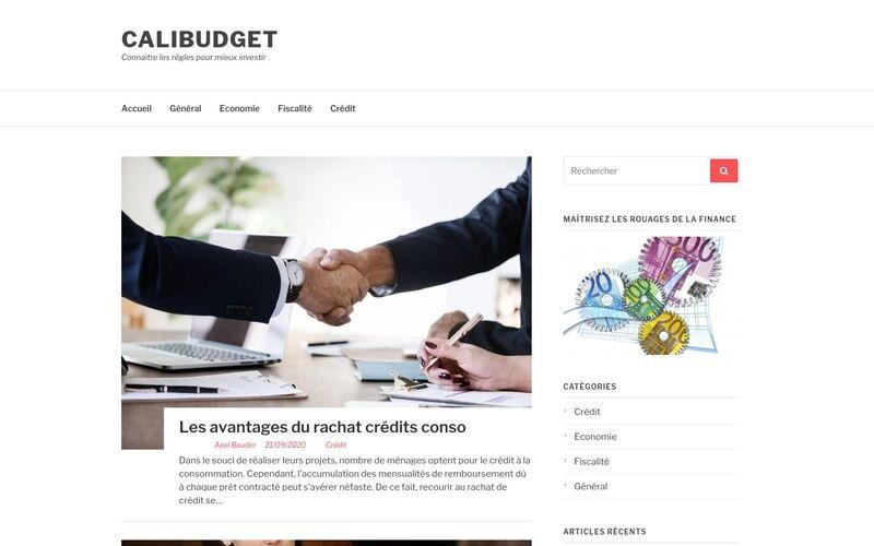 Calibudget - Connaître les règles pour mieux investir